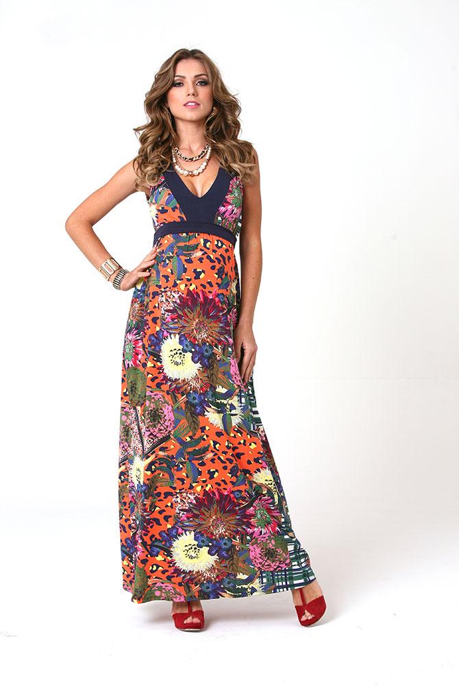 1133 - Vestido Laura Longo