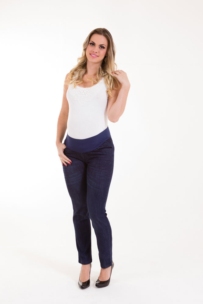 1192 - Calça Jeans Marte Amassada
