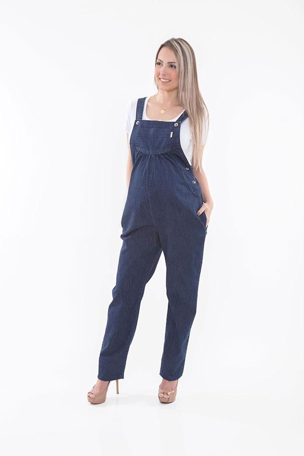 1195 - Macacão Patrícia Jeans