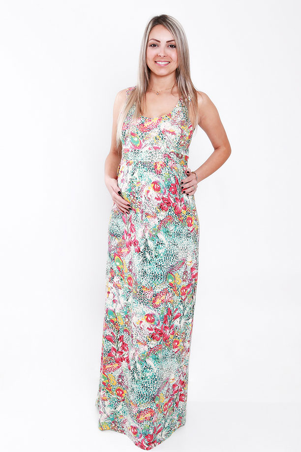 1197 - Vestido Ana Regata