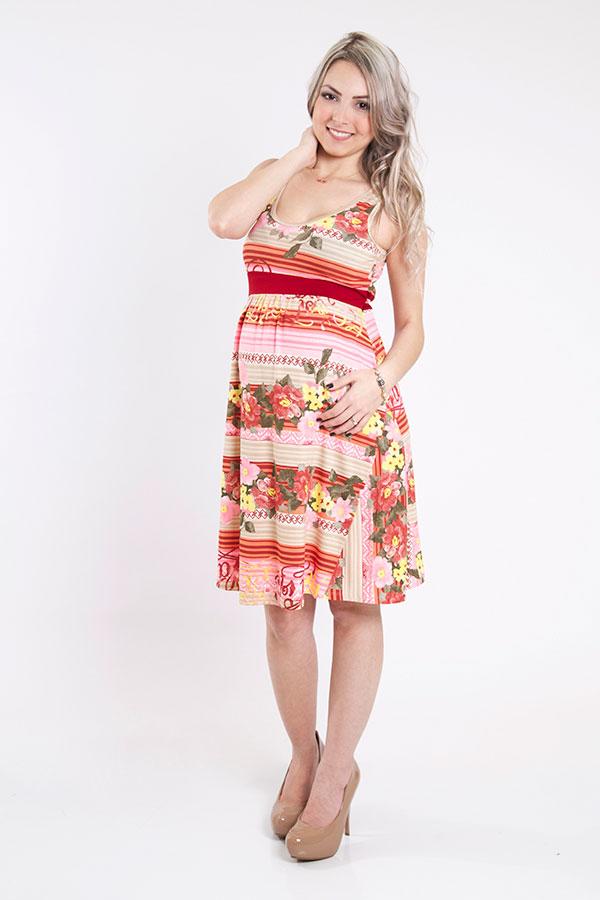 1206 - Vestido Nicole Vermelho