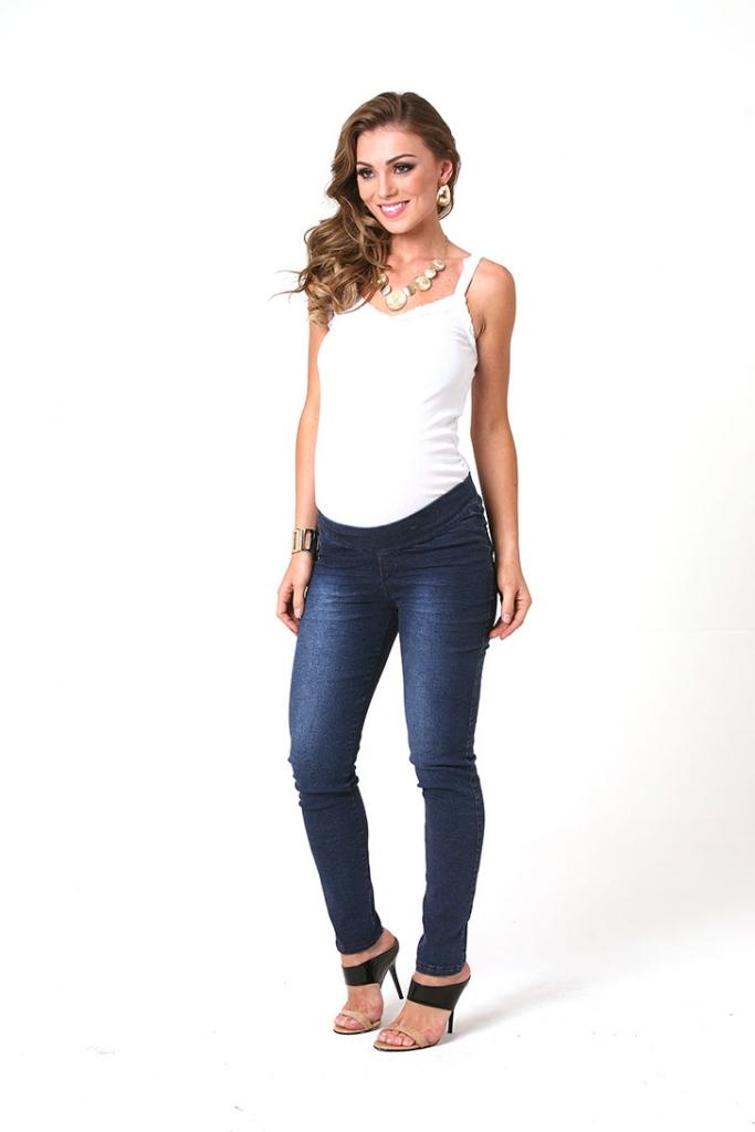 593 - Calça Legging Jeans