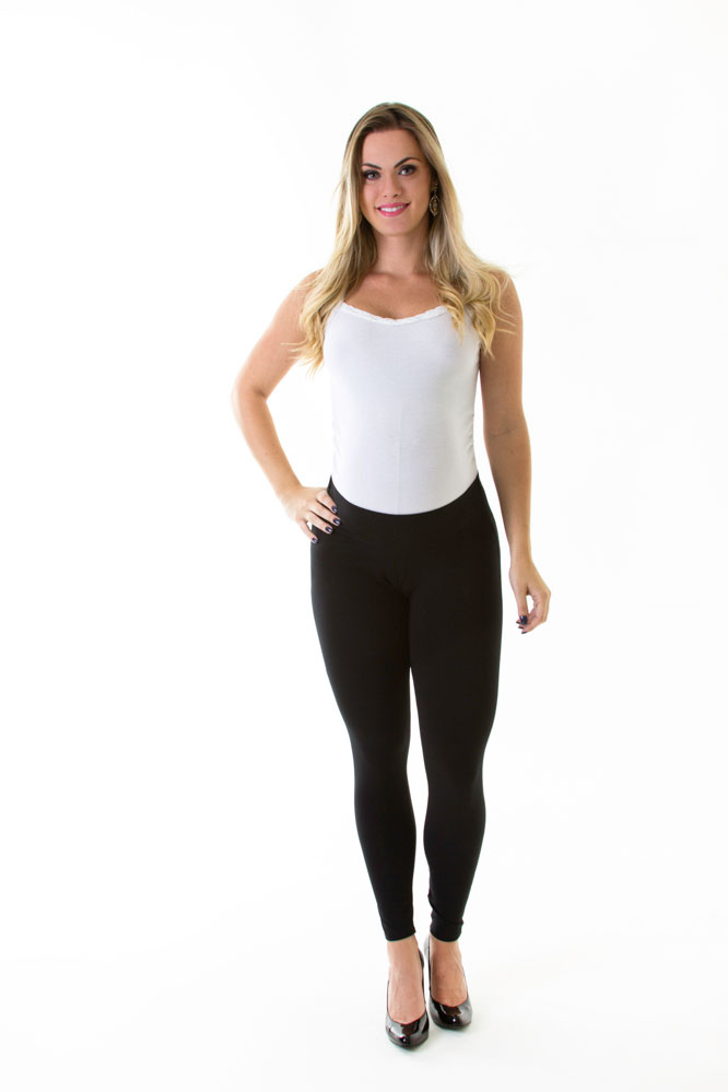 652 - Calça Legging de Cotton
