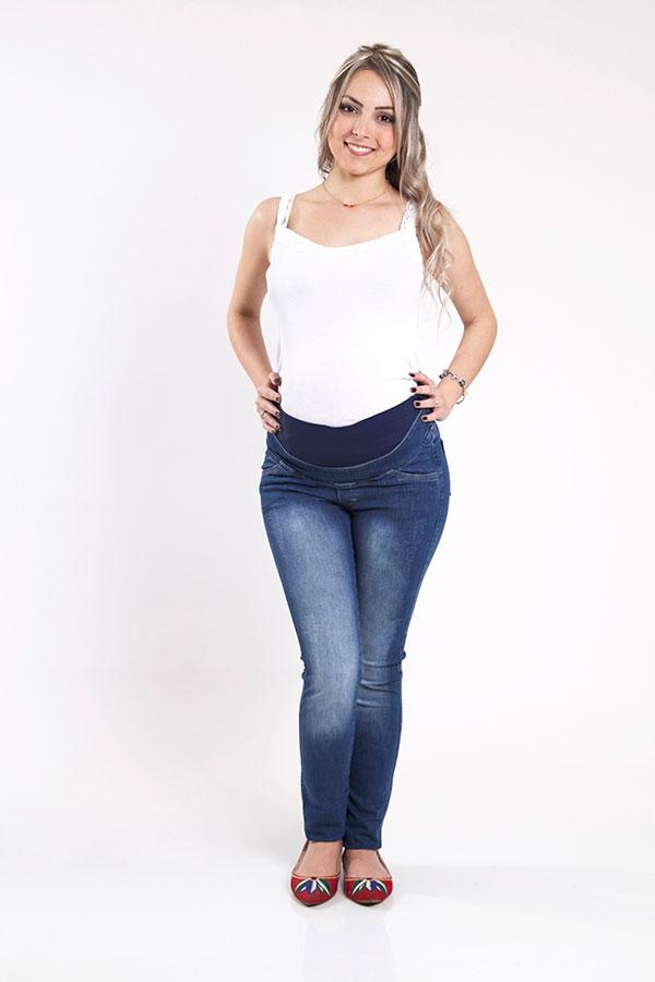 980 - Calça Jeans Luciana Cós Inteiro